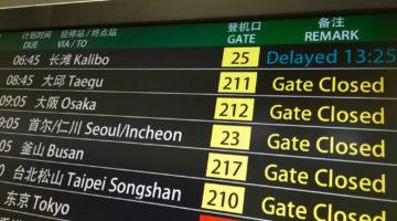 airline flight delayed